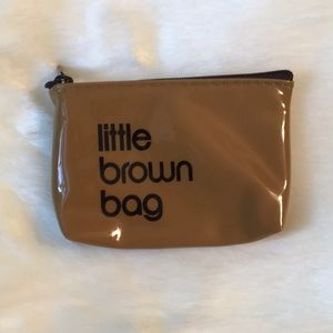 Bloomingdale's Little Brown Bag Key Pouch